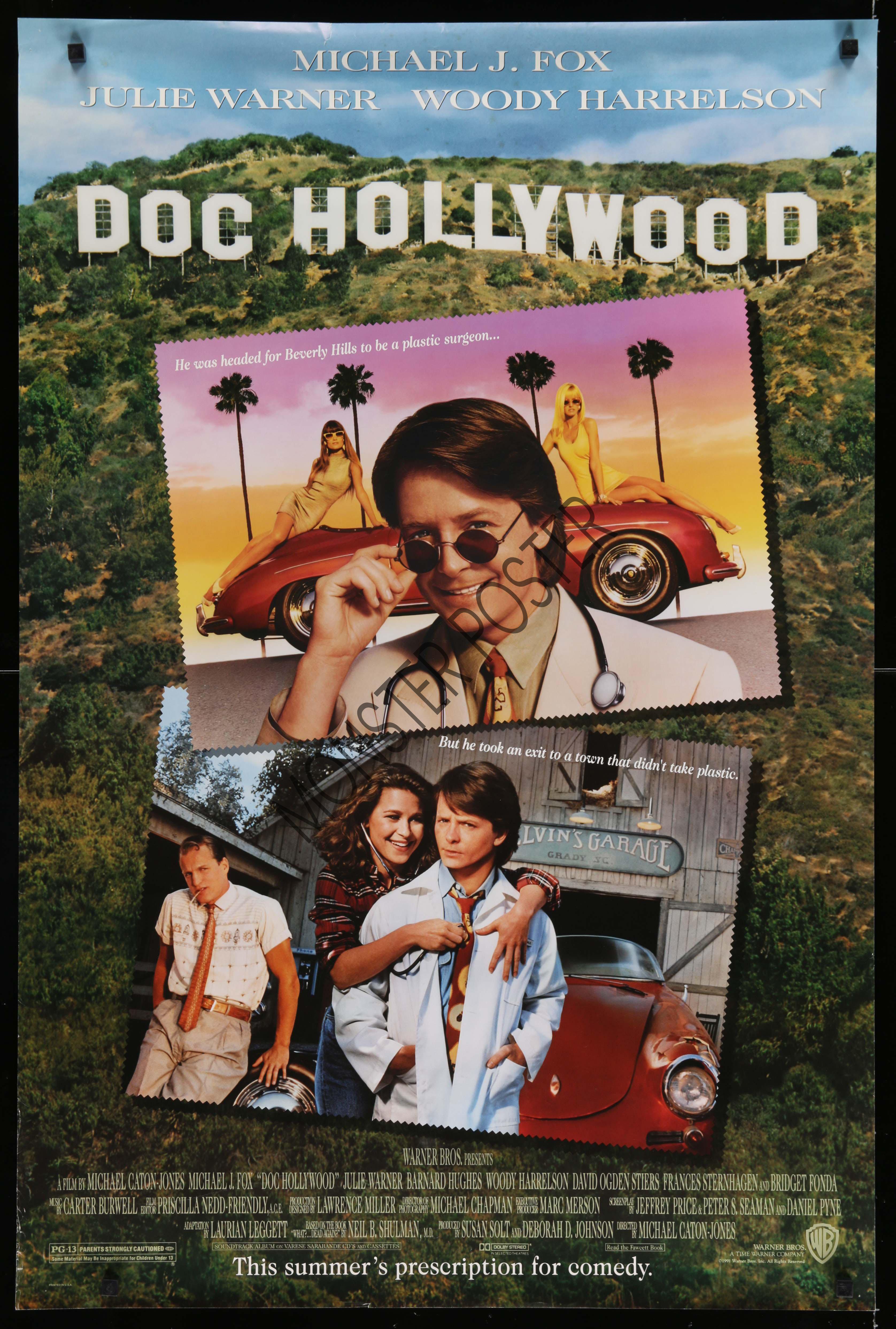 Doc Hollywood | Monster Poster